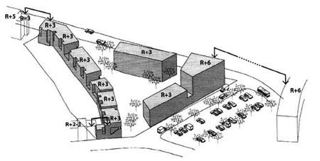 Nouveau projet à l'enquête: construction de logements sociaux et moyens av. Jacques Brel
